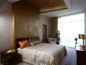 вариант спальни в стиле фьюжн