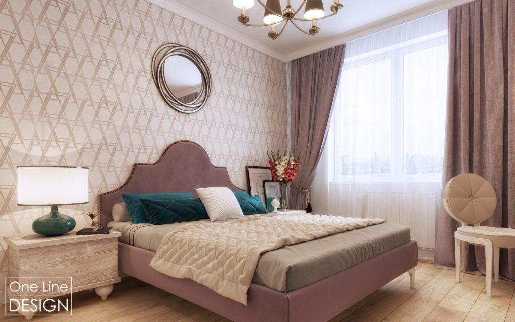 Спальня нееоклассика
