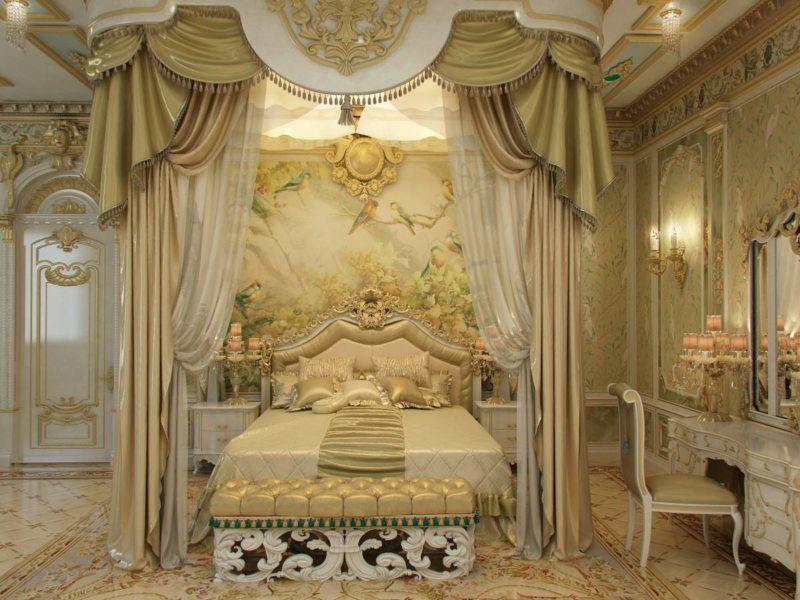 мебель барокко в спальне