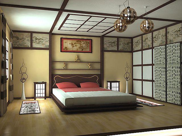 атрибуты японского стиля в интерьере
