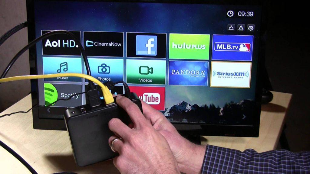 Телевизор и флешка