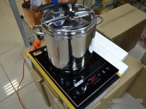 варка самогона в индукционной плите
