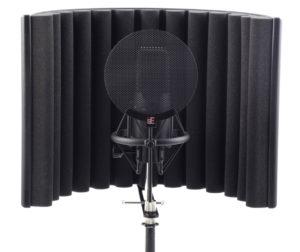 Для чего нужен поп-фильтр для микрофона