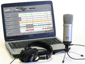 как записать звук через микрофон на компьютер
