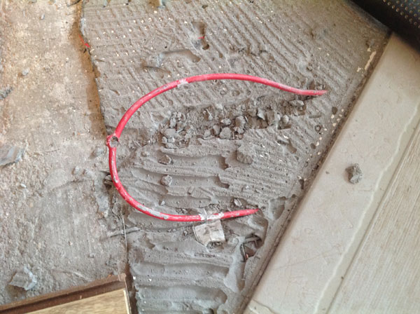 Обрыв кабеля