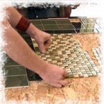 Укладка плитки на осб плиту на пол 22