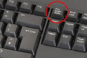 кнопка скрин