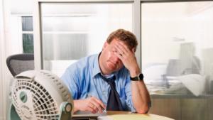 Работа кондиционера в офисе повышает умственные способности