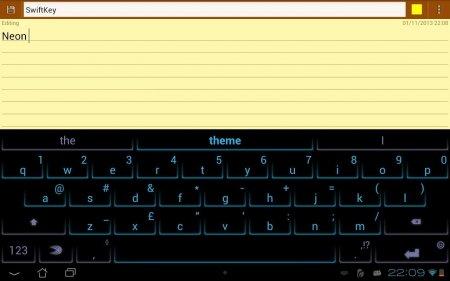 Характеристики клавиатурыSwiftKey