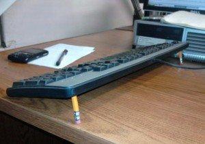 Замена ножек на клавиатуре