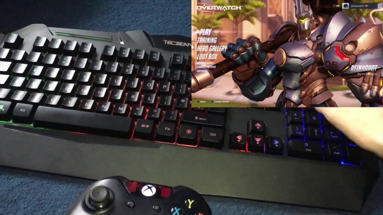 Клавиатура и мышь для игр.