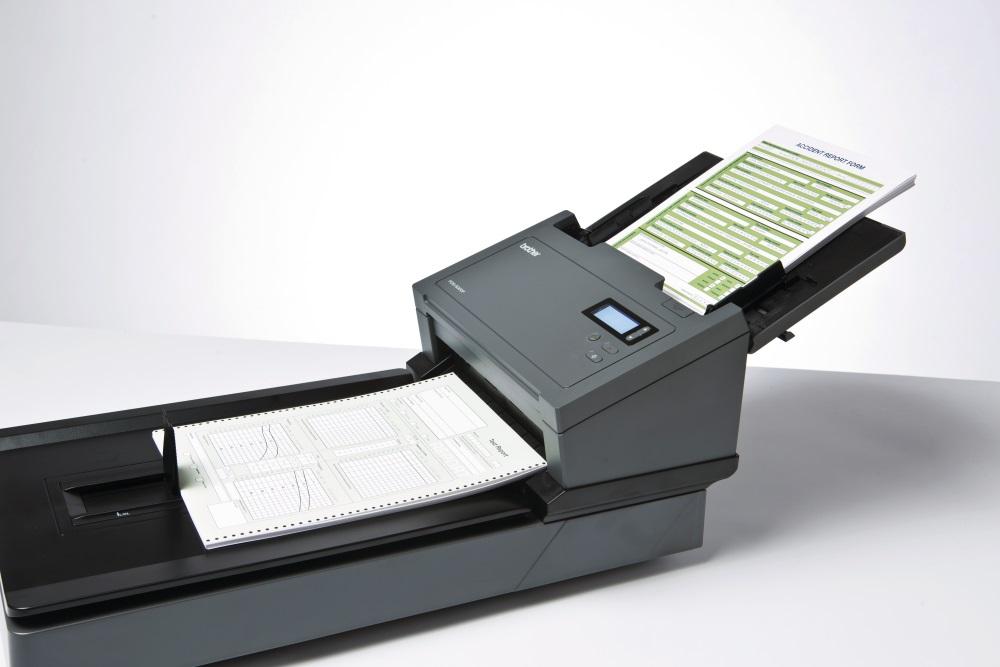 Сканер с автоматической подачей документов.