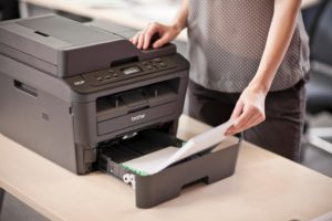 Печать на принтере.