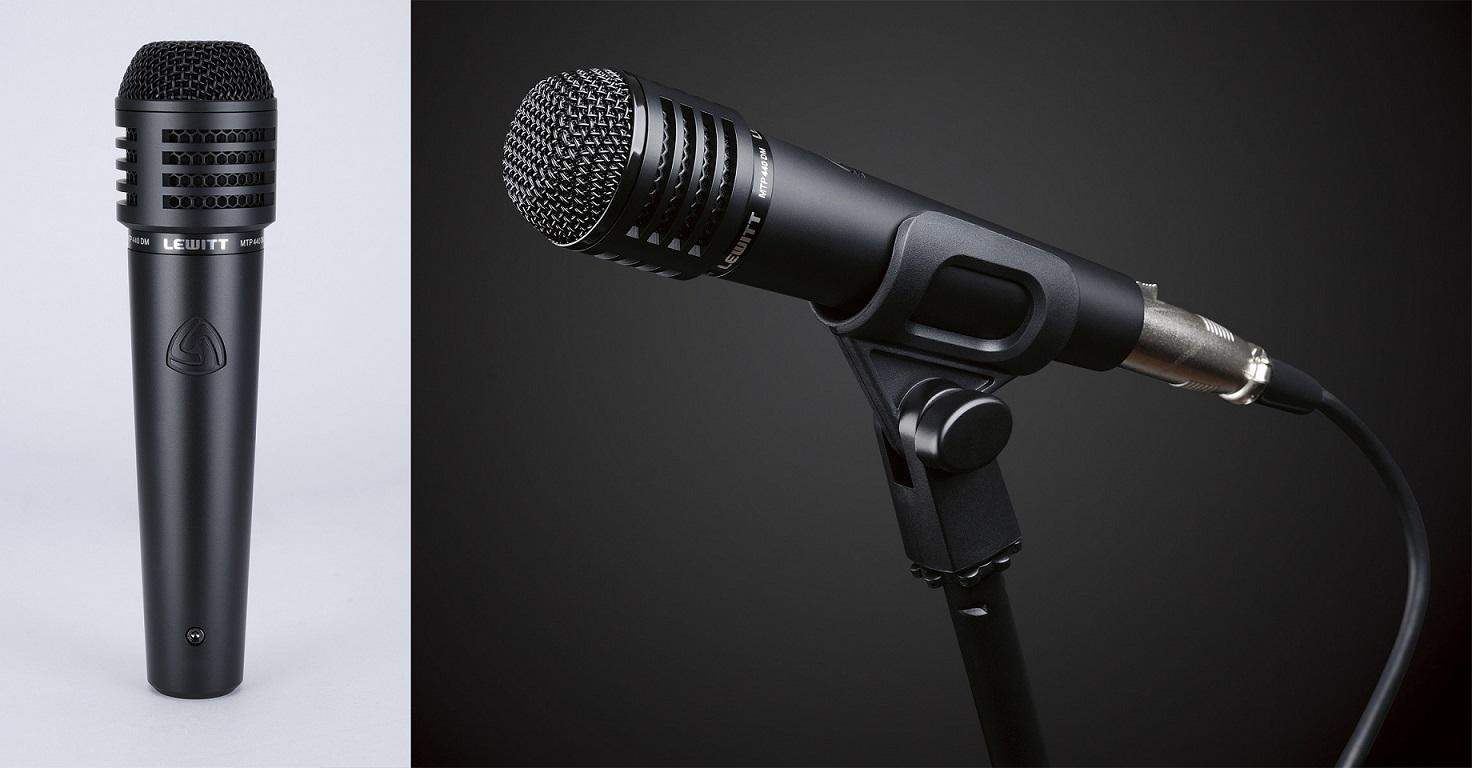 Динамический микрофон.