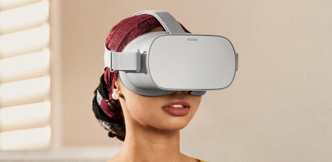 Гарнитура виртуальной реальности.