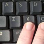Как на ноутбуке скопировать текст без мышки