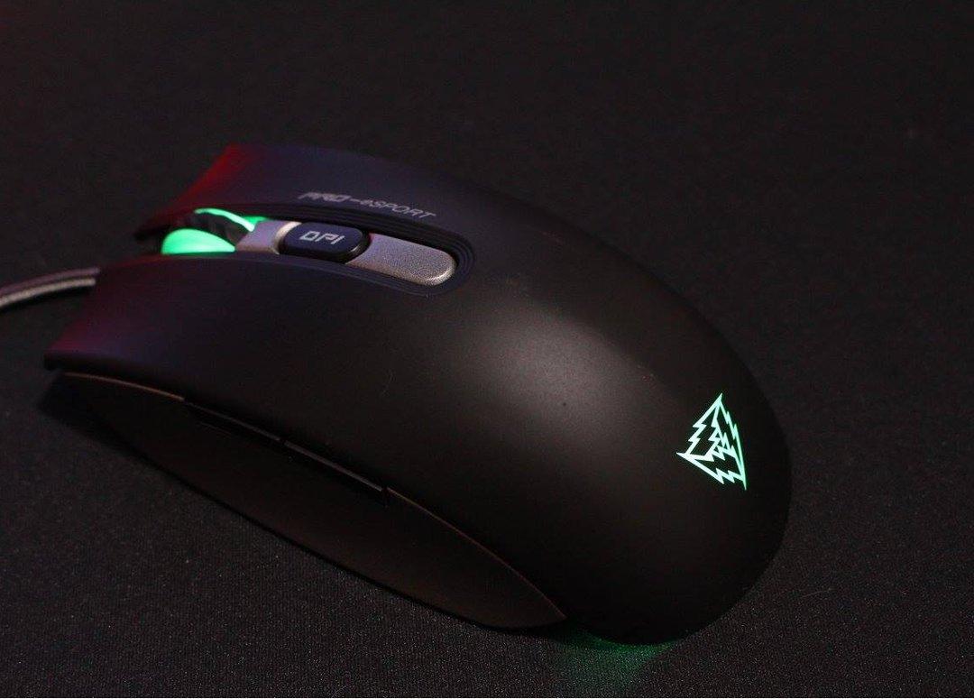 Лазерная мышь.