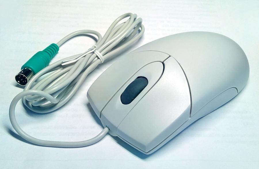 Механическая мышь.