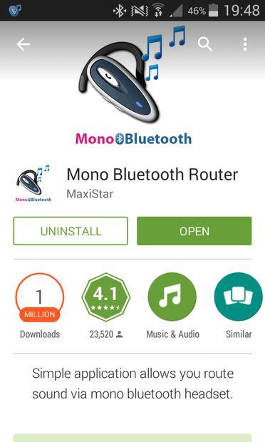 Mono Bluetooth Router.