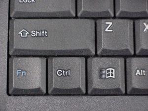 Кнопки клавиатуры.