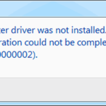 Ошибка 0x00000002.