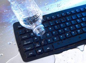 Попадание жидкости