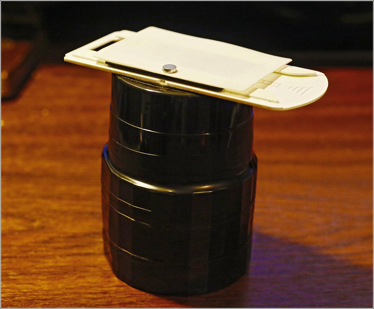 Самодельный сканер из трубы.