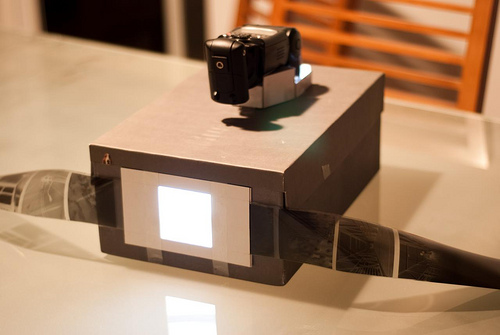 Самодельный сканер из коробки.