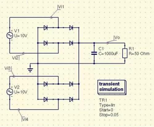 Схема для ветрогенератора.