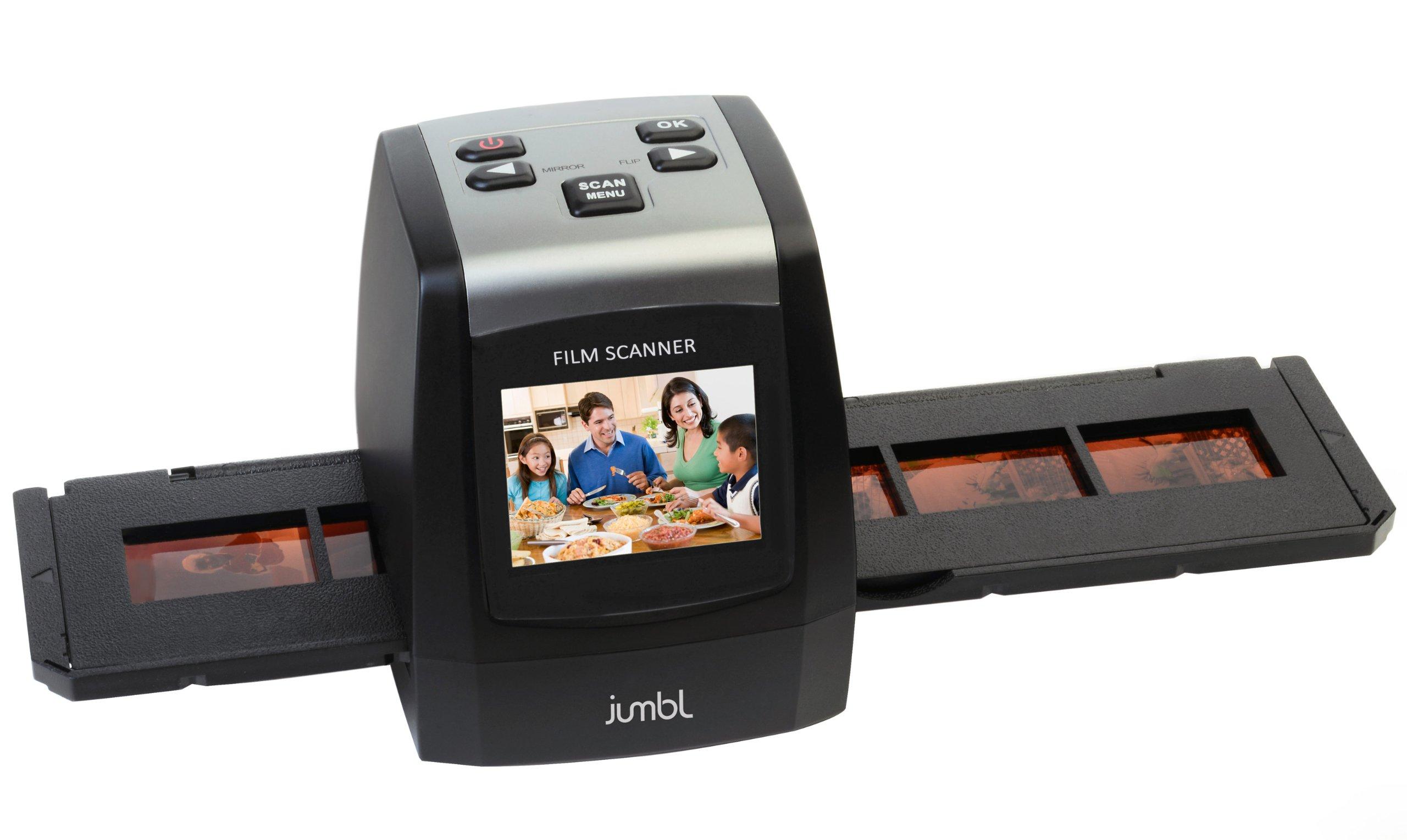 Специальный слайд-сканер.