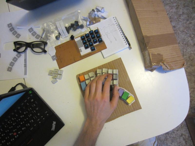 Клавиатура своими руками
