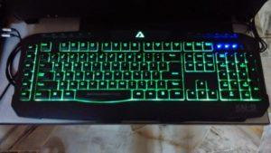как отключить подсветку на клавиатуре