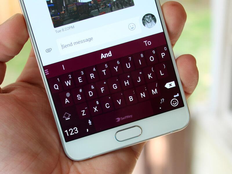 клавиатура на телефоне андроид