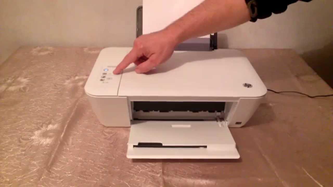 Как включить принтер