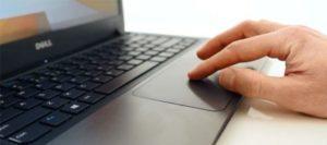 мышкА на клавиатуре ноутбука