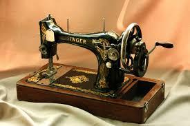 старая швейная машина