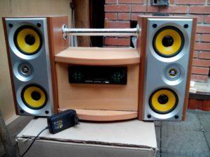 Музыкальный центр из автомагнитолы своими руками