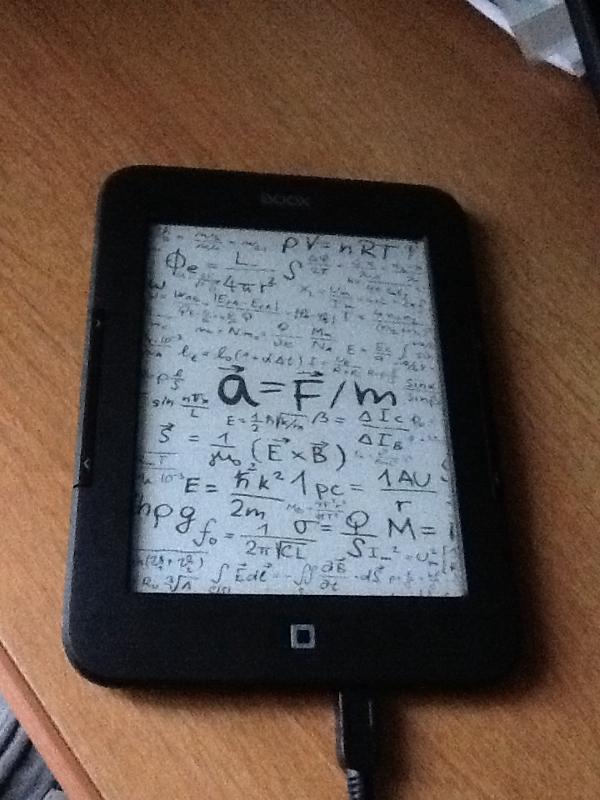 Зависла электронная книга, что делать