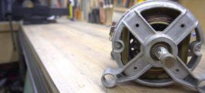Как сделать отрезной ленточный станок из двигателя от стиральной машины