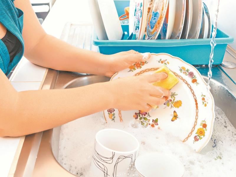 Губка для посуды