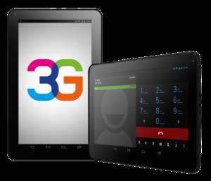 3G на планшете.