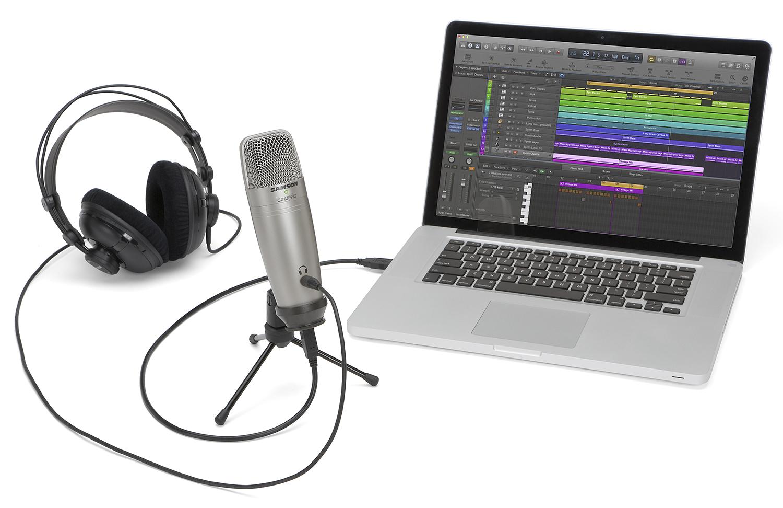 как записать звук на ноутбуке