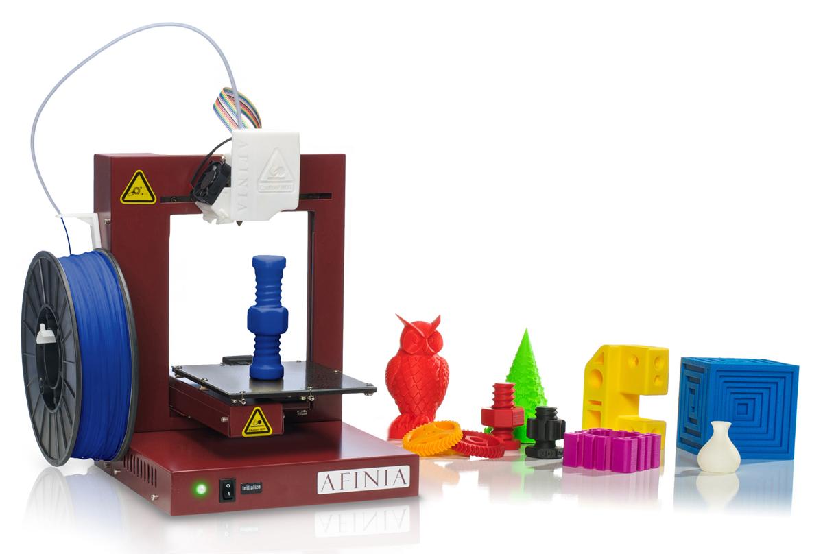 Модели фигур. создаваемых на 3d принтере.