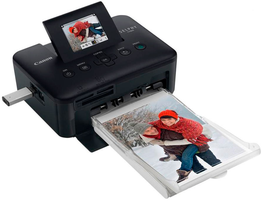 Термосублимационный принтер.