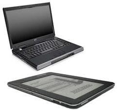 Компьютер и электронная книга.