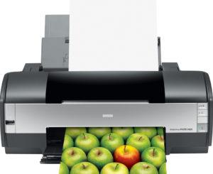 Цветной принтер.