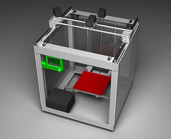 Собранный принтер.