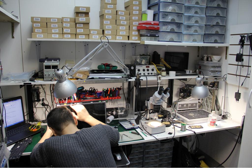 Диагностика и ремонт ноутбуков в мастерской.