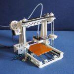 Вариант самодельного 3D-принтера.