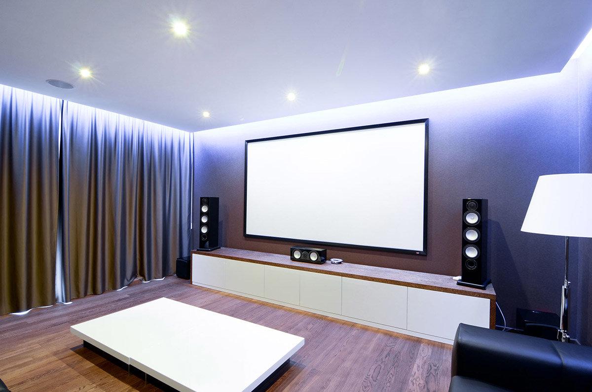 Домашний кинотеатр.